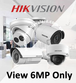 Hikvision 6MP Cameras