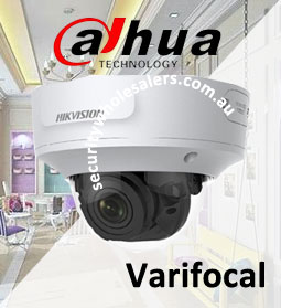 Dahua Motorised Varifocal Cameras