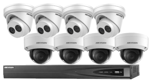 8MP Hikvision Packages