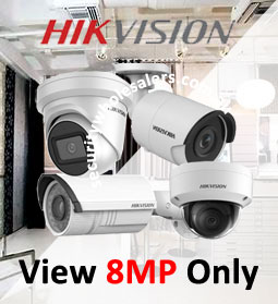 Hikvision 8MP 4K Cameras