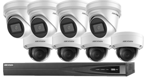 8MP / 4K Hikvision Packages