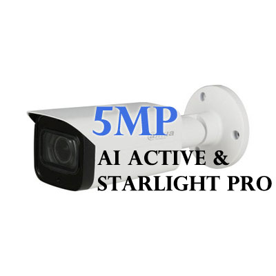 5MP AI Active and Starlight Pro Cameras