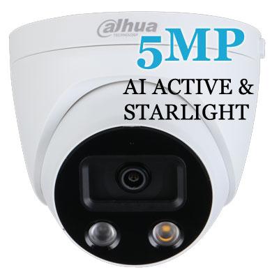 5MP AI Active & Starlight Eyeballs