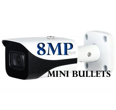 8MP IR Bullet Cameras