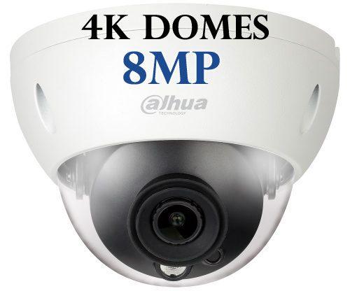 Dahua 8MP IR Dome Cameras