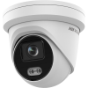 Hikvision DS-2CD2347G2-LU 4MP Gen2 Outdoor ColorVu Turret Camera with Acusense & Mic 30m White LED 2.8mm