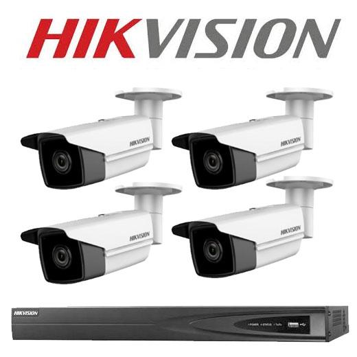 Hikvision 6MP Bullet Kits